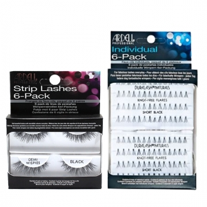 c690a7a274d 6 Packs Strip Lashes Natural Luckies Black 1260065 - Nazih Cosmetics
