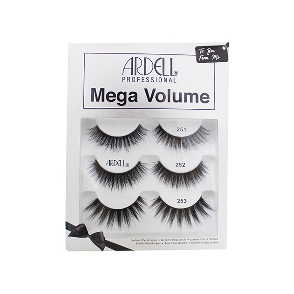 c332d058a8b Ardell Mega Volume Holiday 3 Pack 71139 1261139 - Nazih Cosmetics
