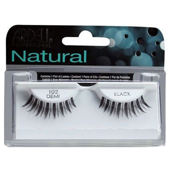 fashion lashes #102 demi black