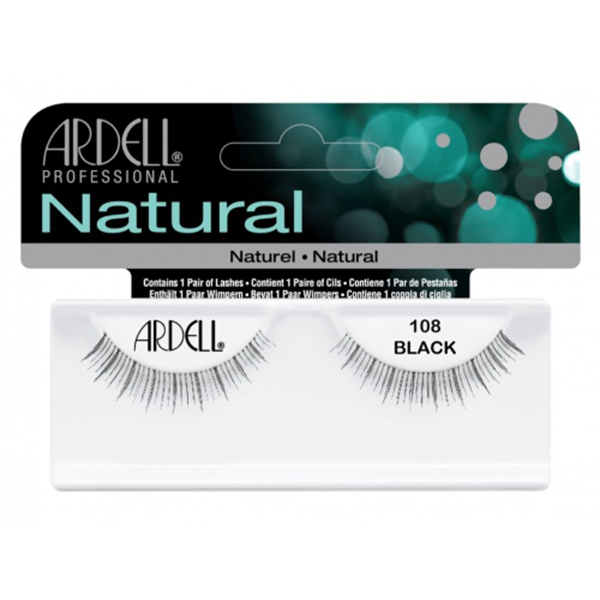 fashion lashes #108 demi black