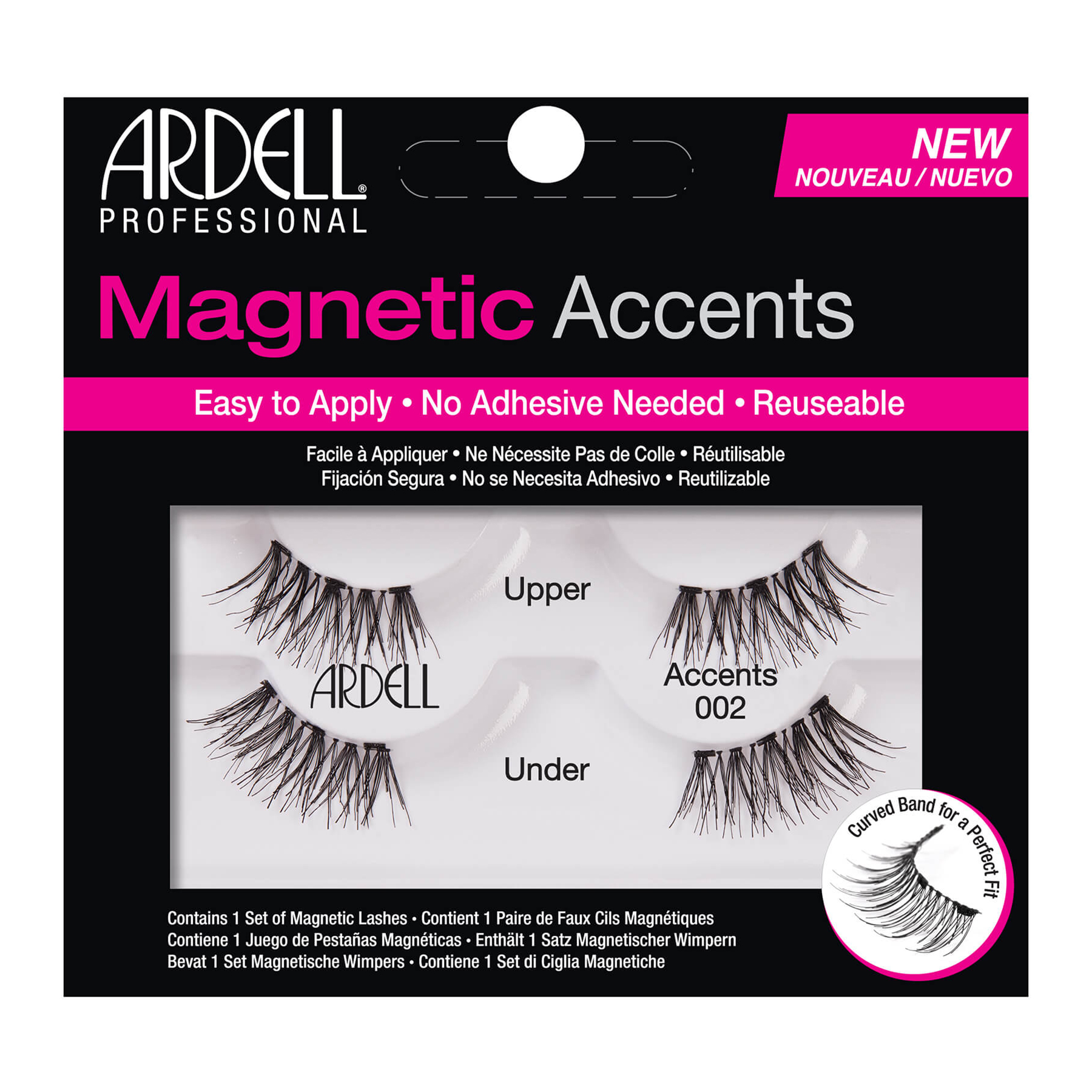 75c4a4fdfd4 Ardell Magnetic Accent Lash 002 67954 1267954 - Nazih Cosmetics