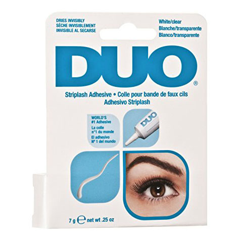 duo strip lash adhesiv clear - 0.25 oz
