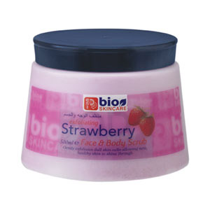 strawberry scrub - 500ml