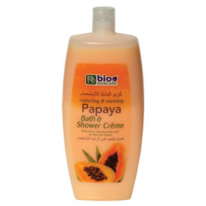 bath creme  - papaya - 750ml