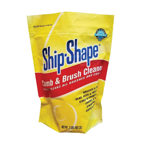 ship - shape comb & brush cleaner