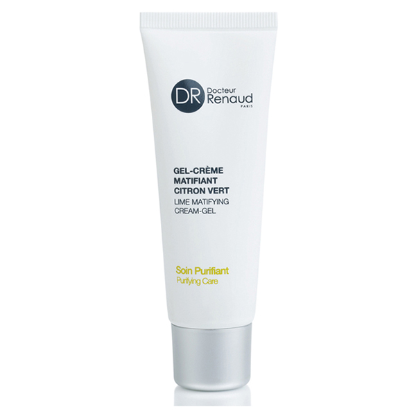 lime mattifying cream-gel - purifying