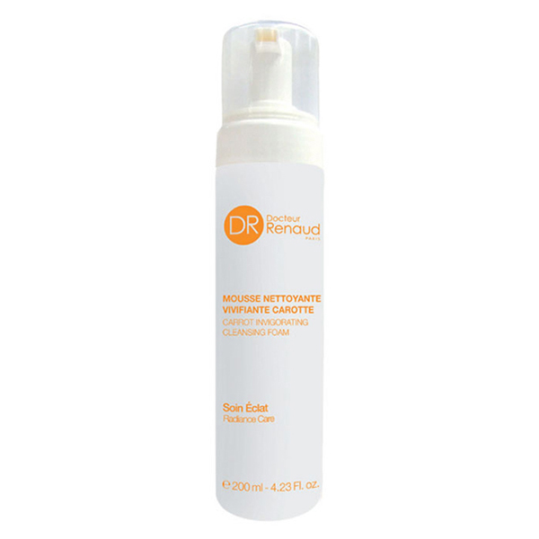 carrot invigorating cleansing foam - radiance