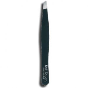 tweezers soft touch ss steel - 95 mm