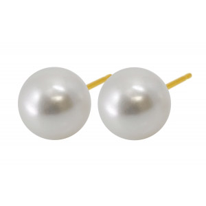 8mm white pearl