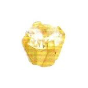 white cubic zirconia 18 ct gold - clawset