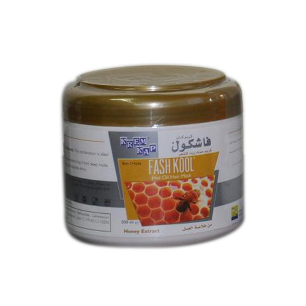honey extract hot oil hair mask- 500ml