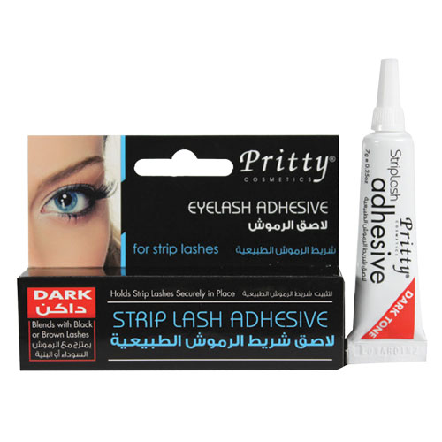 eyelash adhesive – for strip lashes - dark