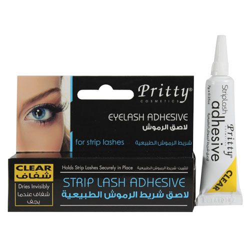 eyelash adhesive – for strip lashes - clear