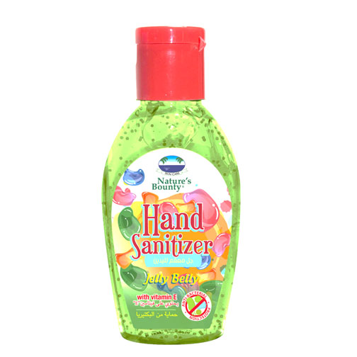 natures bounty hand sanitizer jelly belly 60ml