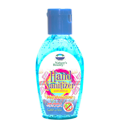 natures bounty hand sanitizer marshmallow 60ml