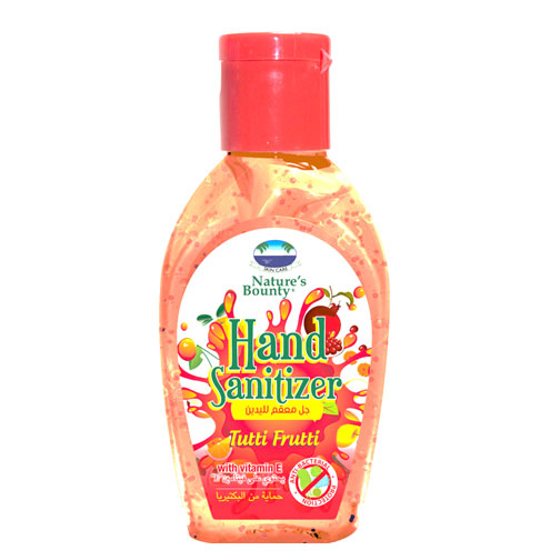 natures bounty hand sanitizer tutti frutti 60ml