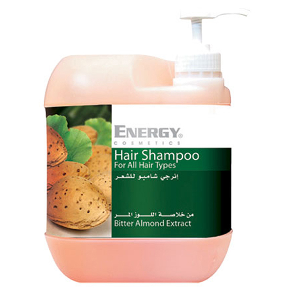 hair shampoo with almond extract  -  5l