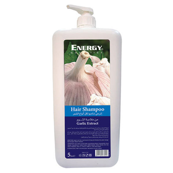 hair shampoo with garlic extract - 5l