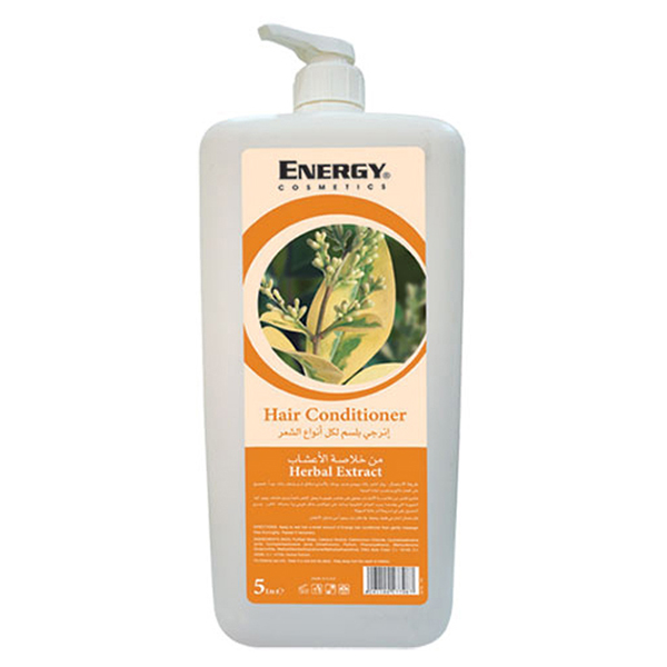 hair conditioner with herbal extract - 5l