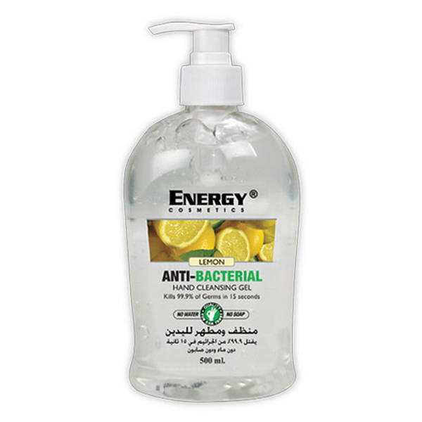 anti septic gel lemon 500ml