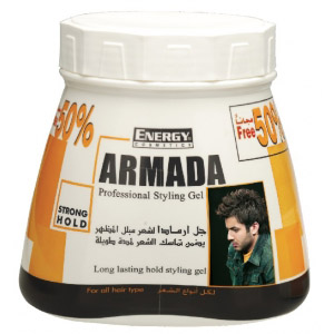 armada strong hold styling gel - 1500 ml