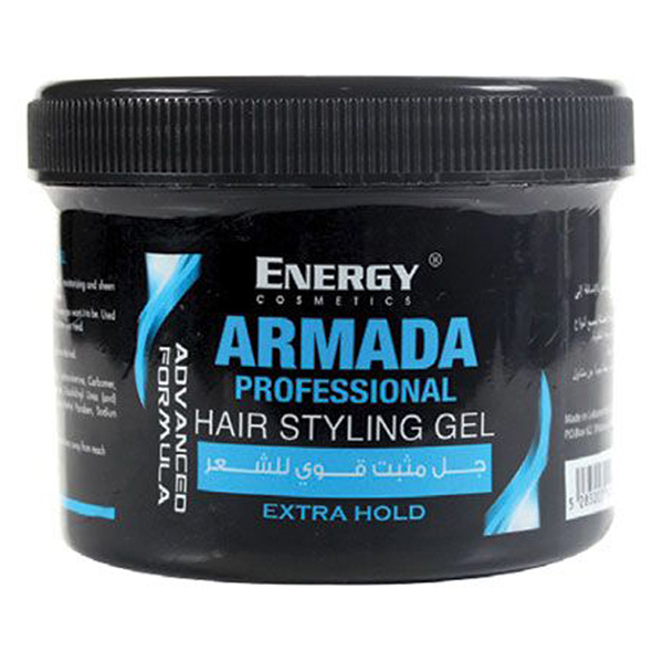 armada hair styling gel - strong hold 500ml