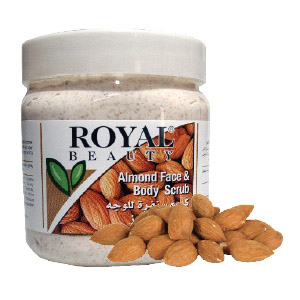 almond scrub 300ml