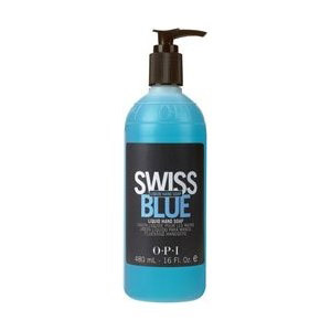 swiss blue antibacterial liquid hand soap - 480ml