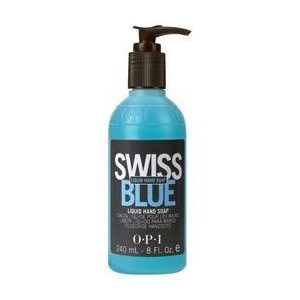 swiss blue antibacterial liquid hand soap - 240ml