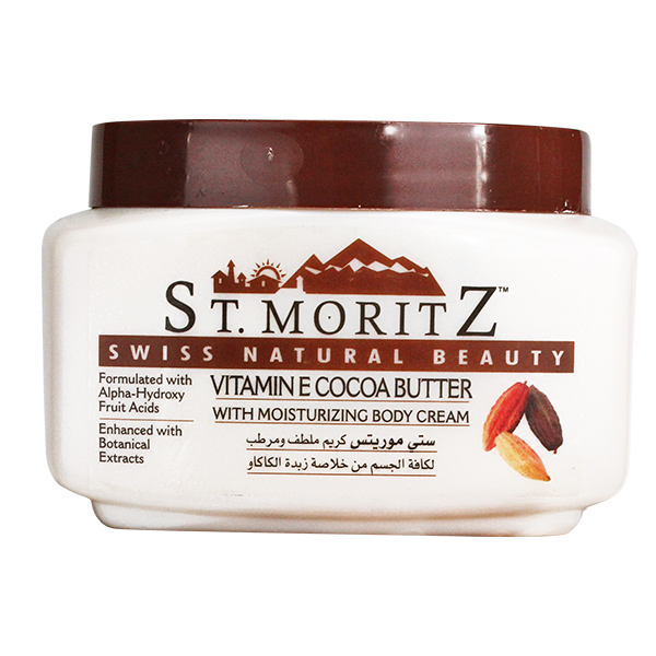vitamin-e cocoa btter moisturizing body cream