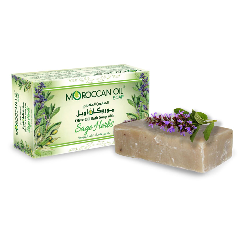 organic soap with olive oil & sage kit