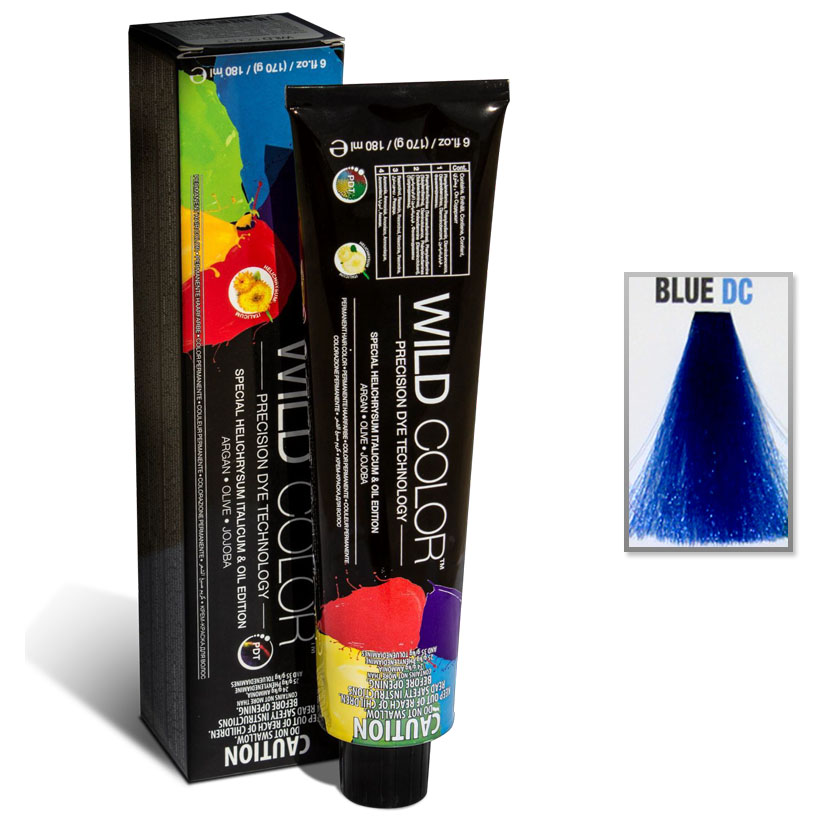 hair color cream  #blue 180ml-b direct color