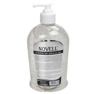shaving gel - pump - 500ml