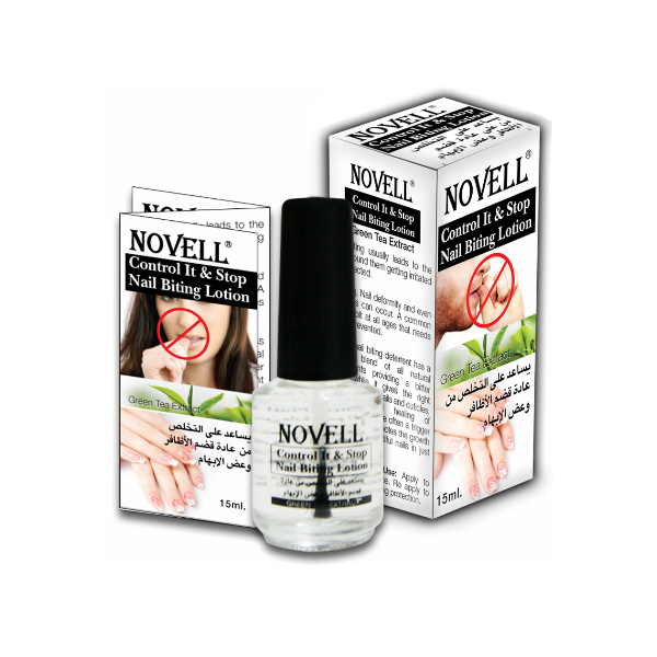 control it & stop nail biting lotion with green tea extracts