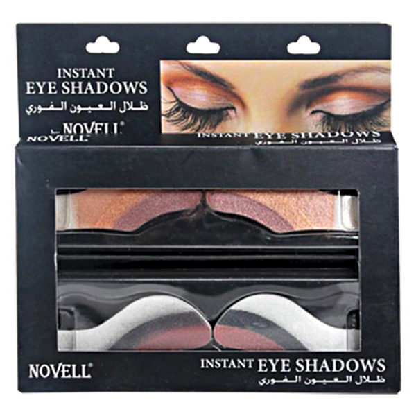 novell instant eyeshadows kit