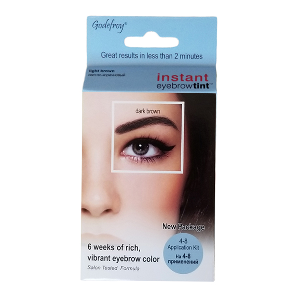 Godefroy Instant Eyebrow Tint 4 App Dark Brown 5450008 Nazih Cosmetics