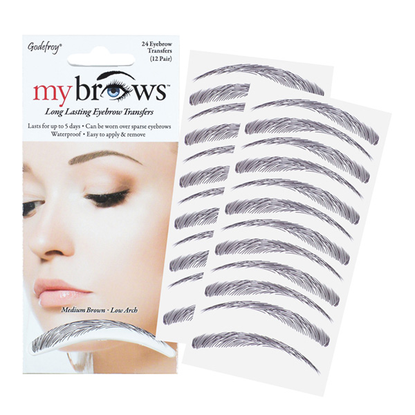 Godefroy Mybrows Medium Brown Low Arch 5450019 Nazih Cosmetics