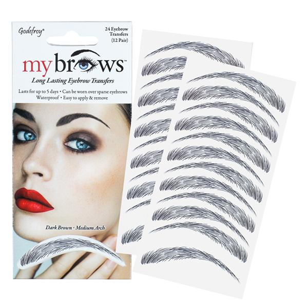 Godefroy Mybrows Dark Brown Medium Arch 5450021 Nazih Cosmetics