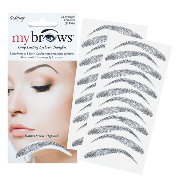 Godefroy Mybrows Medium Brown High Arch 5450025 Nazih Cosmetics