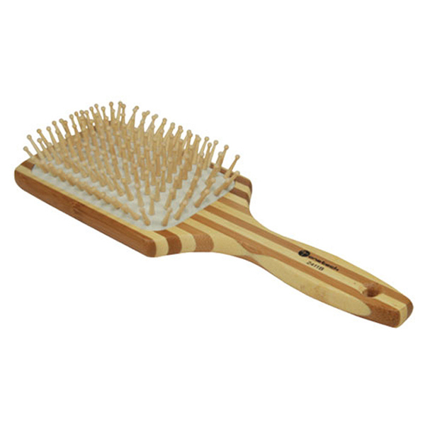 hair brush bamboo