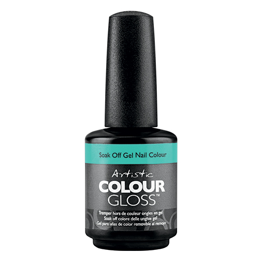 cool cats & kittes soak off gel 15ml - 2100020 - iridescent teal