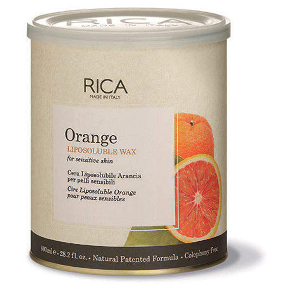 orange liposoluble wax - 800ml