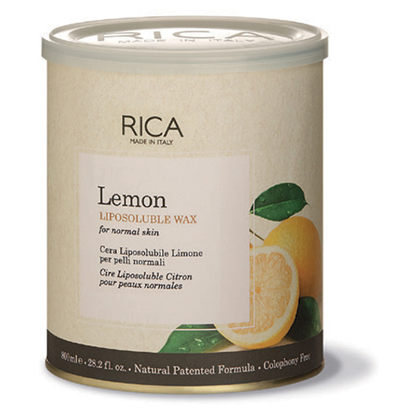 lemon liposoluble wax - 800ml