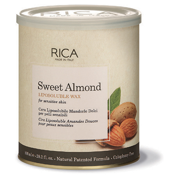 sweet almond liposoluble wax - 800ml