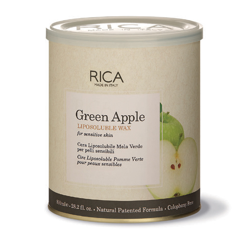 green apple liposoluble wax- 800ml
