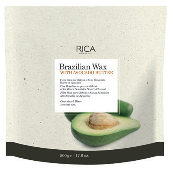 brazilian wax with avocado butter - 500ml